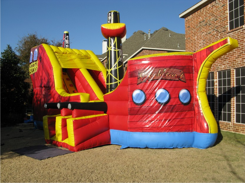 ahoy matey pirate ship combo house